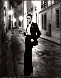 YSL by Helmut Newton